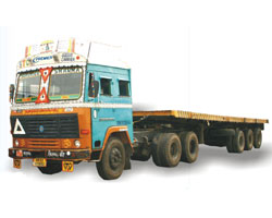 Trailer Triple Axle Capacity upto 40 MT Size 40*8*8